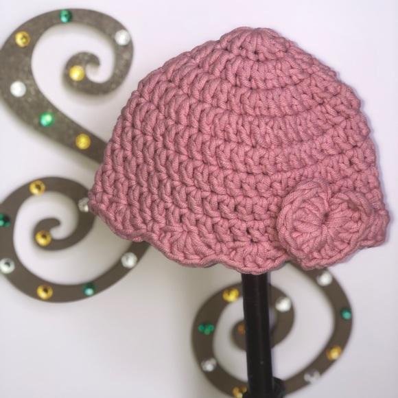 Other - 🌻Handmade infant girl crochet hat🌻